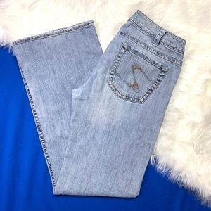 SILVER~Tina~L33~Jeans